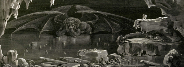 dantes inferno essays Free essay: vii, 40-42) his hostility is not spared even toward the guardians of hell in canto iii, we meet the demon charon he is a fearsome creature.