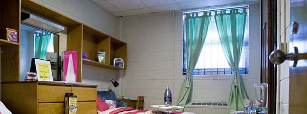 Five College Dorm Room Tips - Post banner