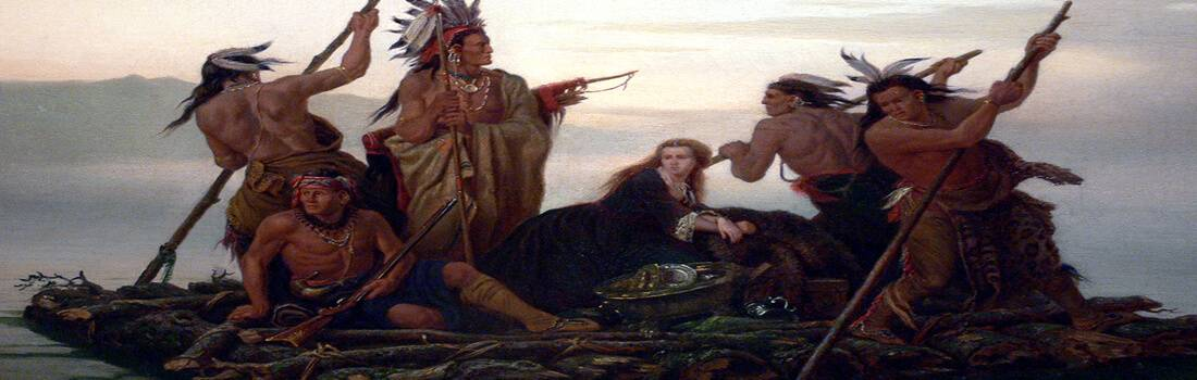 Native Americans in Early American Literature - Post banner