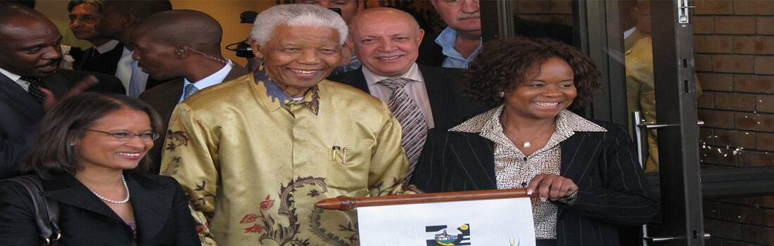 Sample Descriptive Essay: Remembering Nelson Mandela - Post banner
