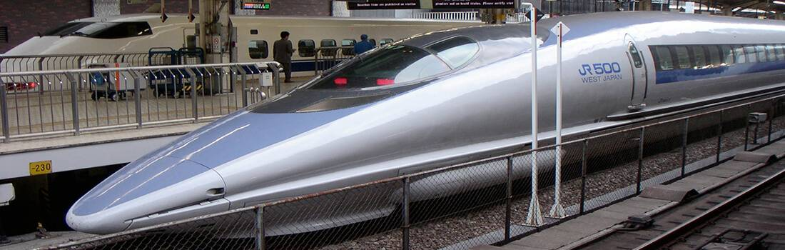 Sample Essay on Bullet Train Project - Post banner
