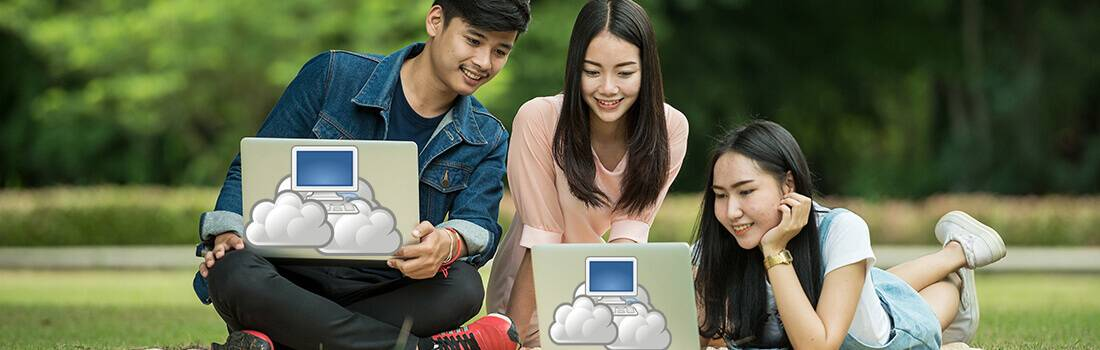 Cloud Computing: Why College Students Should Keep Their Heads in The Cloud - Post banner