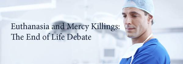 a discussion about life and death in the debate about euthanasia Euthanasia is the termination of a very sick person's life in order to relieve them of their suffering in most cases euthanasia is carried out because the person who dies asks for it, but there.