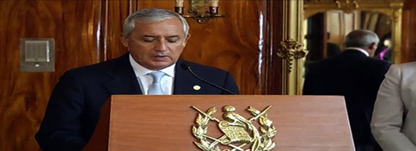 Guatemala President Resigning for Being Involved With Fraud - Post banner