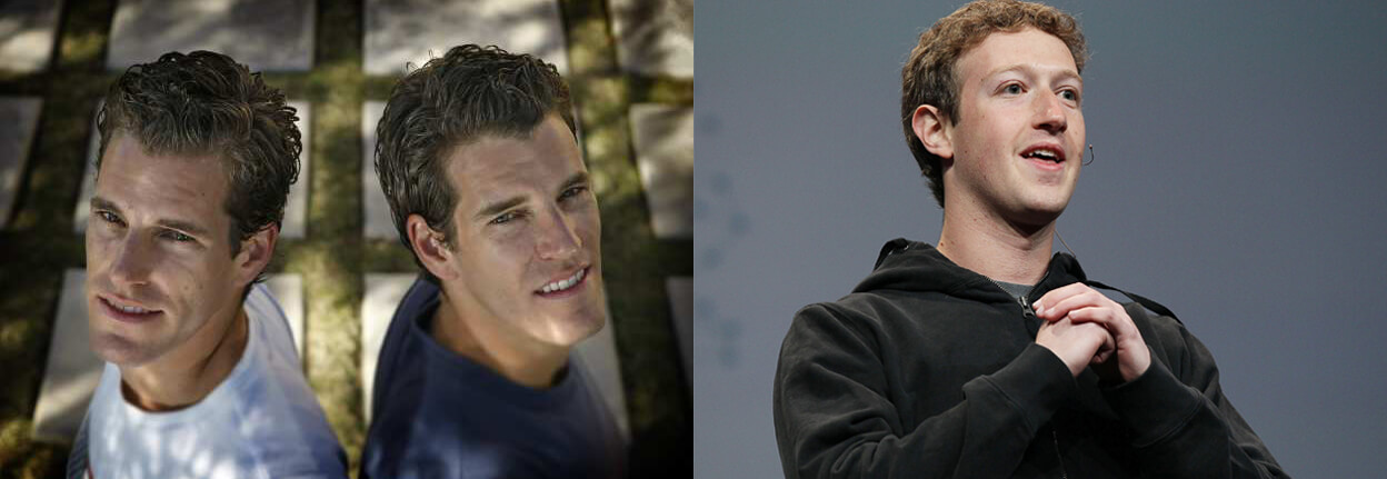 Winklevoss vs. Zuckerberg - Facebook intellectual property dispute - LA Times - People.com.