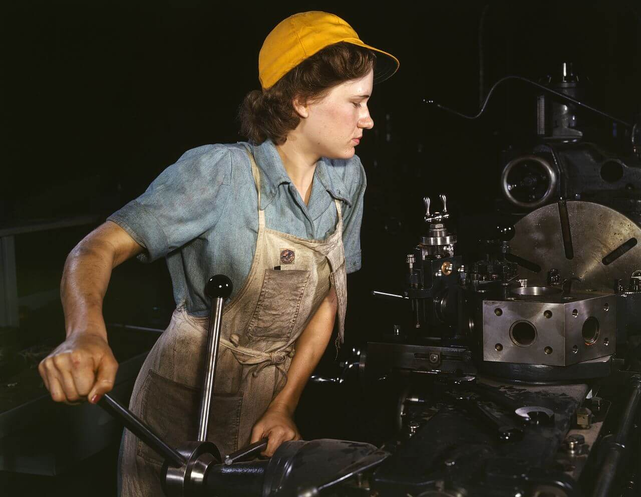 essay on gender roles and stereotypes blog  a w operates a turret lathe at the consolidated aircraft corporation plant in 1942