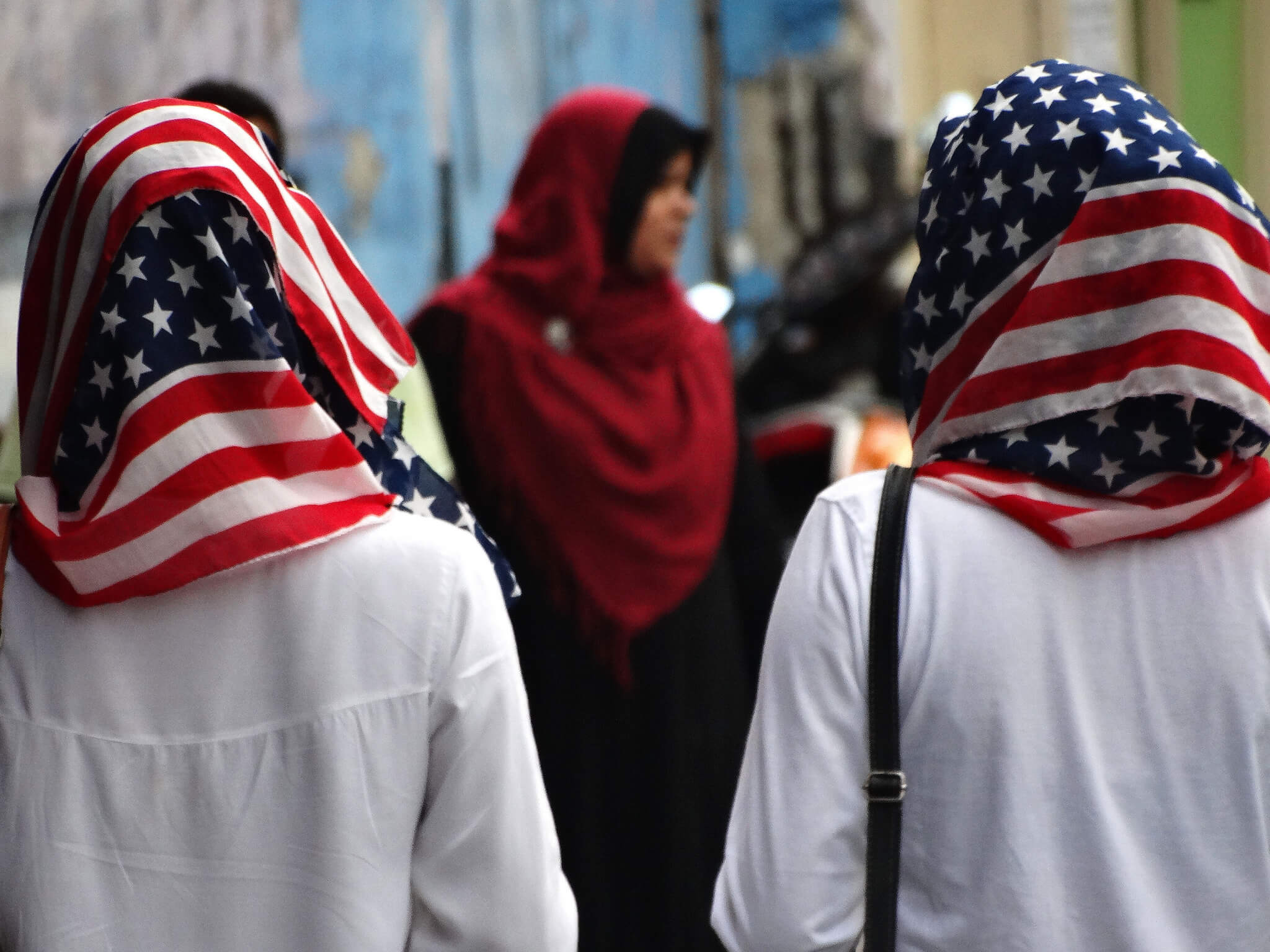 research paper on muslims in the united states blog ultius two muslim women wear stars and stripes hibjabs