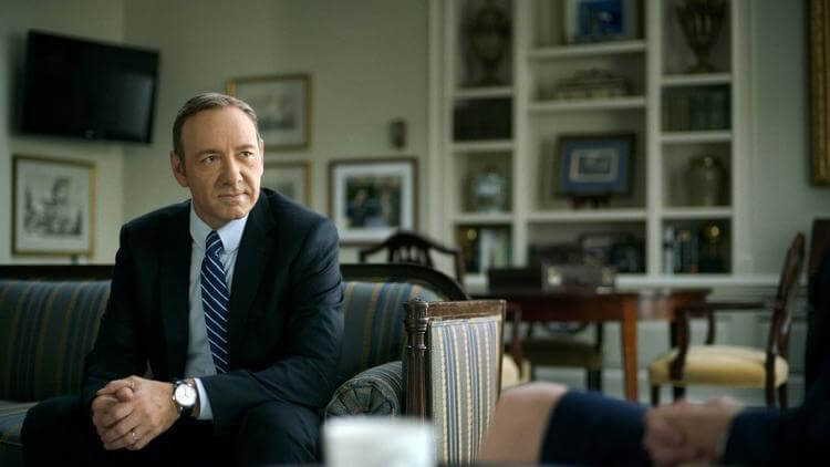 Kevin Spacey in House of Cards - Los Angeles Times