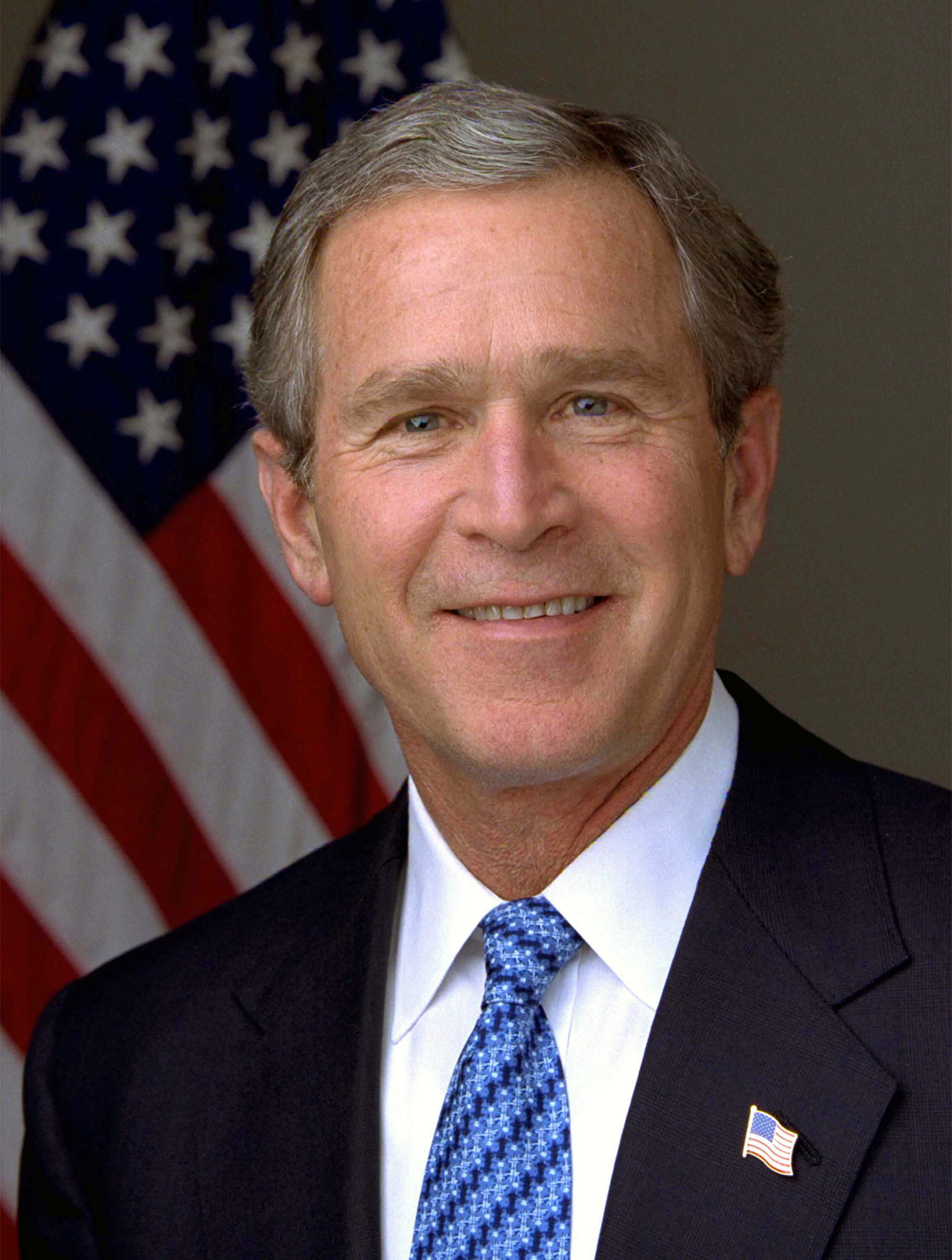 Former President George W. Bush - January 2003