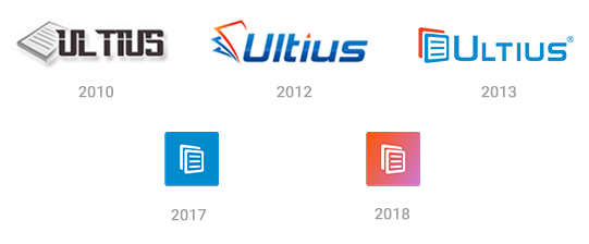Logo evolution - Ultius