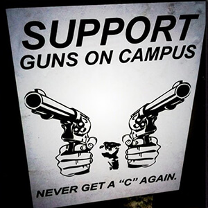 Blog post - Pros and Cons of Guns on Campus