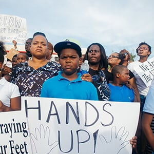 Blog post - The Ferguson Shooting and Social Justice
