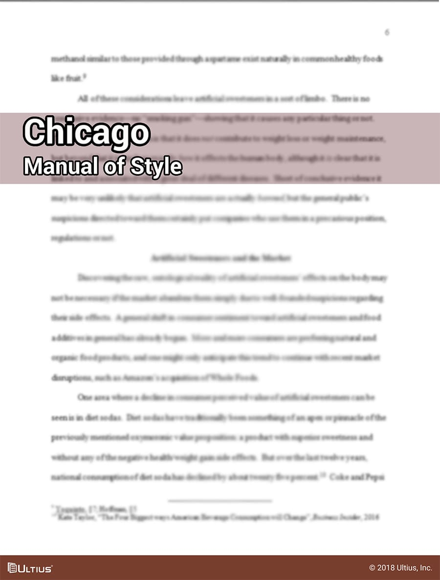 How to write in Chicago Manual of Style | Ultius