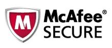 Ultius | McAfee Secure Logo